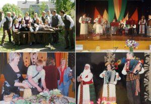 Latvių ir lietuvių draugystė | V. Bičiūnaitės, asmeninių ir Pandėlio universalaus daugiafunkcio centro archyvų nuotr.