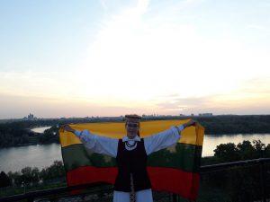 Anglų filologijos absolventė Austėja Maskoliūnaitė | Asmeninio albumo nuotr.