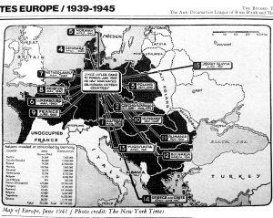 Europa 1939-1945 m.
