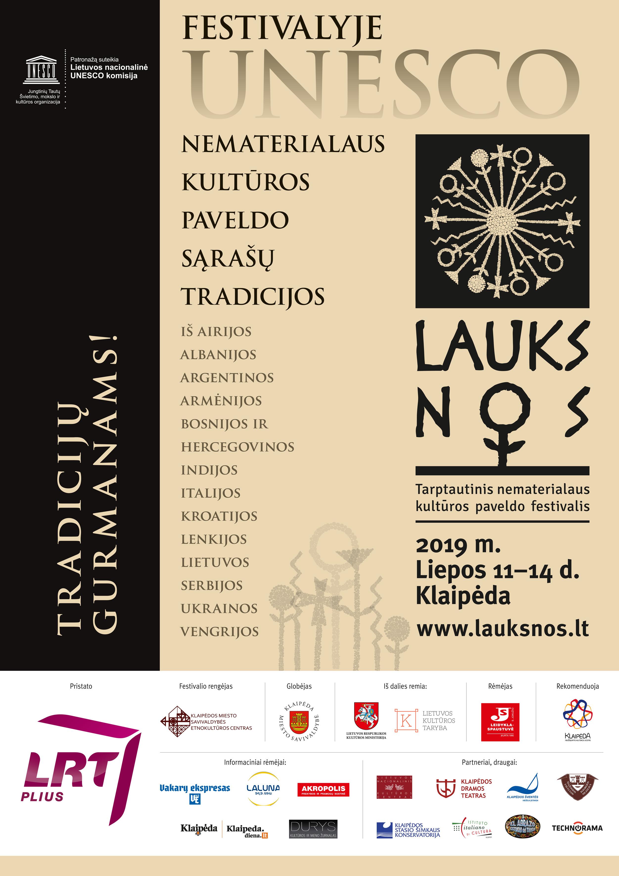 Renginys LAUKSNOS liepos 11-14 d. Klaipėda, programa | Klaipėdos etnokultūros centro nuotr.