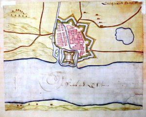 Klaipedos planas XVII a. | Mažosios Lietuvos istorijos muziejaus nuotr.