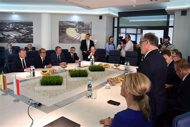 Lietuvos Respublikos Premjeras susitinka su Suvalkų prezidentu | Suvalku miesto portalo nuotr.