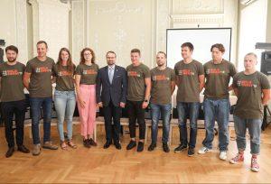 Misija Sibiras dalyviai Kultūros ministerijoje | M. Morkevičiaus nuotr.