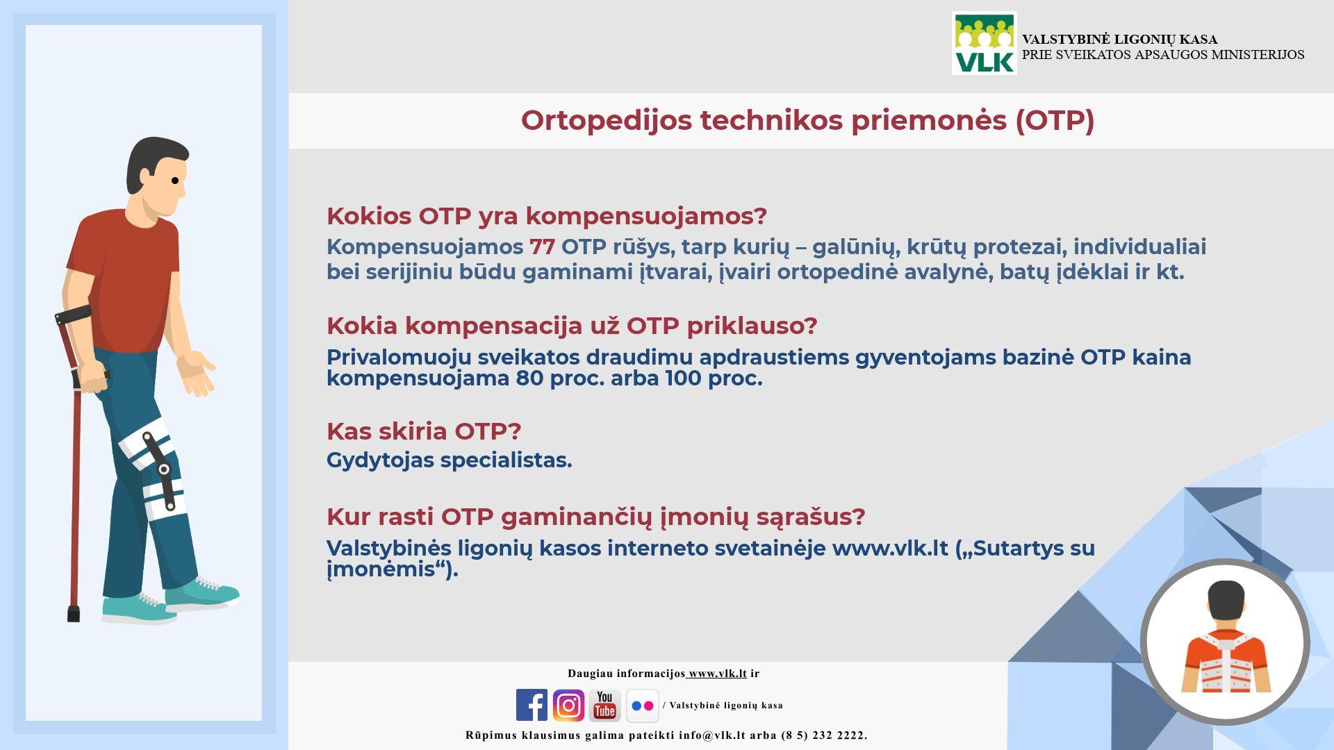 Ortopedijos technikos priemonės (OTP) kokių prireikia daugiausia | VLK nuotr.