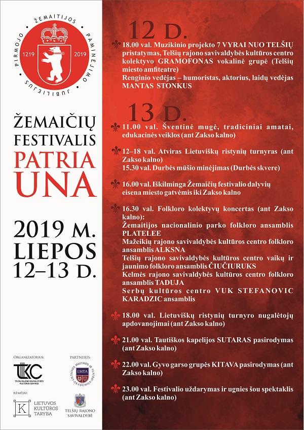 Pirmojo Žemaitijos paminėjimo 800 metų jubiliejus | Telšių rajono savivaldybės kultūros centro nuotr.