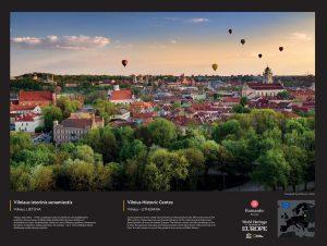 Vilniaus istorinis centras | Lietuvos nacionalinės UNESCO komisijos nuotr.