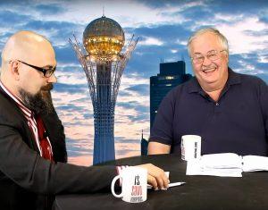 Vitalijus Balkus ir Algis Avižienis | Alkas.lt ekrano nuotr.
