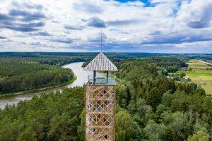 Lankytojams atveriamas Birštono apžvalgos bokštas   Nemuno kilpų regioninio parko direkcijos nuotr.