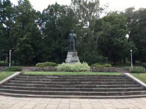 Petro Cvirkos paminklas | Lietuvos rašytojų sąjungos nuotr.