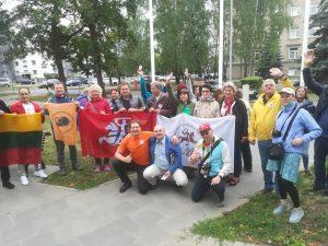 Lietuvos žurnalistai išvyko į Ukrainą LDK keliais | Alkas.lt, J.Vaškūno nuotr.