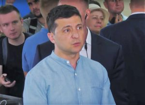 Volodymyras Zelenskis | Alkas.lt ekrano nuotr.