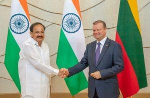 Premjeras: Indijos ambasados atidarymas Lietuvoje sustiprintų bendradarbiavimą visose srityse | lrv.lt nuotr.