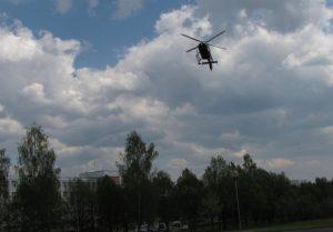 VSAT sraigtasparnis donorinį organą skraidino iš Rygos į Kauną | ntb.lrv.lt nuotr.