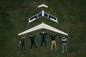 "AGAI bepiločio orlaivio ""Solarwing v2"" prototipas   VGTU nuotr."