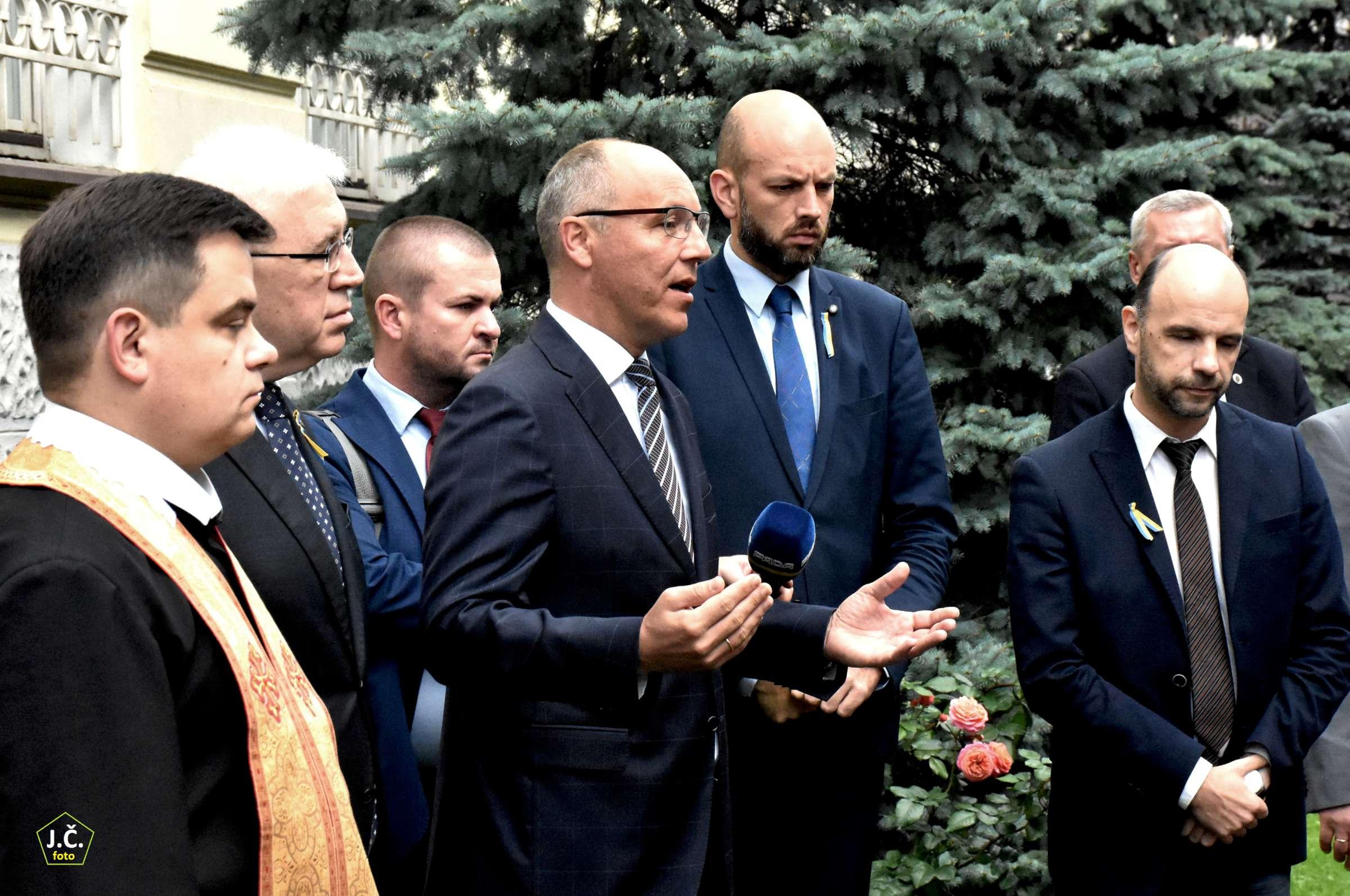 Ukrainos Vėliavos dienos iškilmės | J. Česnavičiaus nuotr.