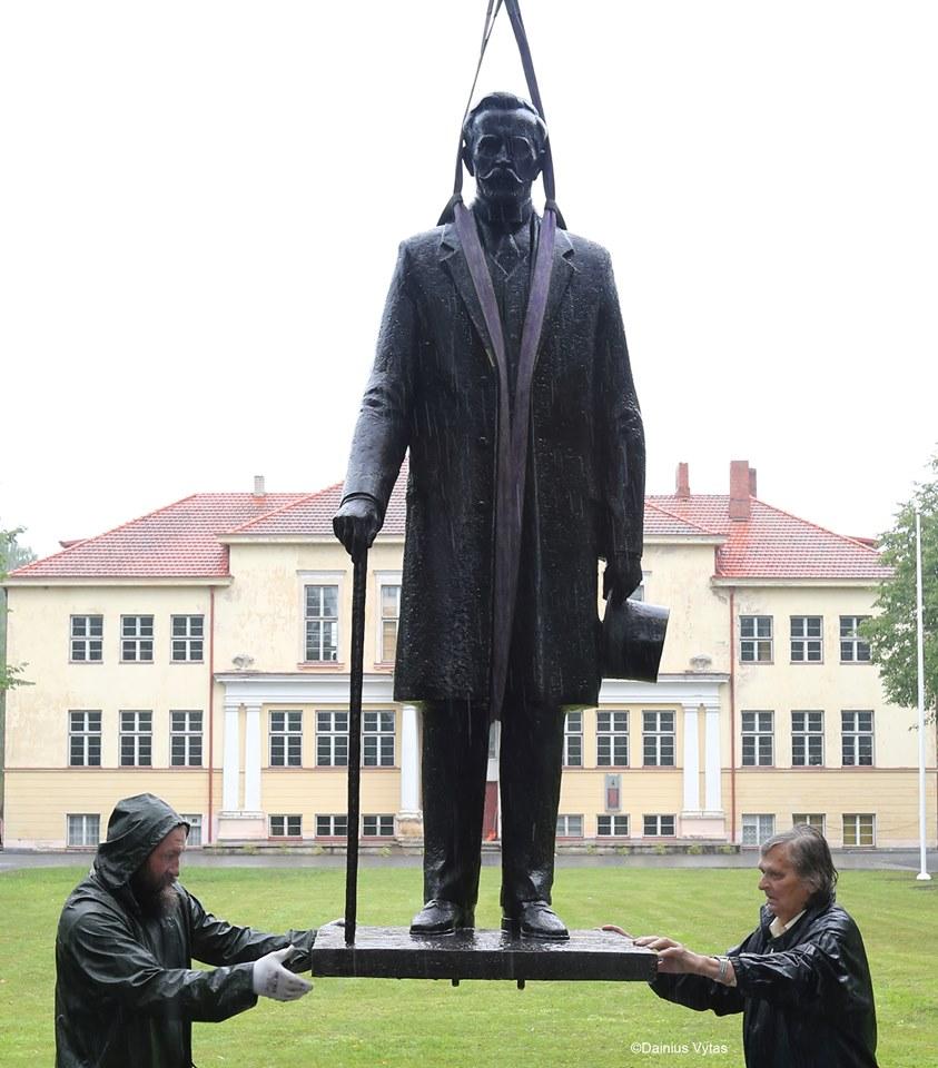 Paminklas Antanui Smetonai | Dainiaus Vyto nuotr.