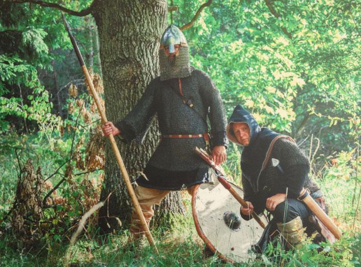 Taip atrodė jotvingių kariai | Kosto Leončiko nuotr.