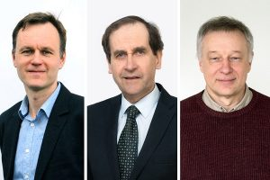 Trims Vilniaus universiteto mokslininkams suteiktas išskirtinio profesoriaus statusas | VU nuotr.