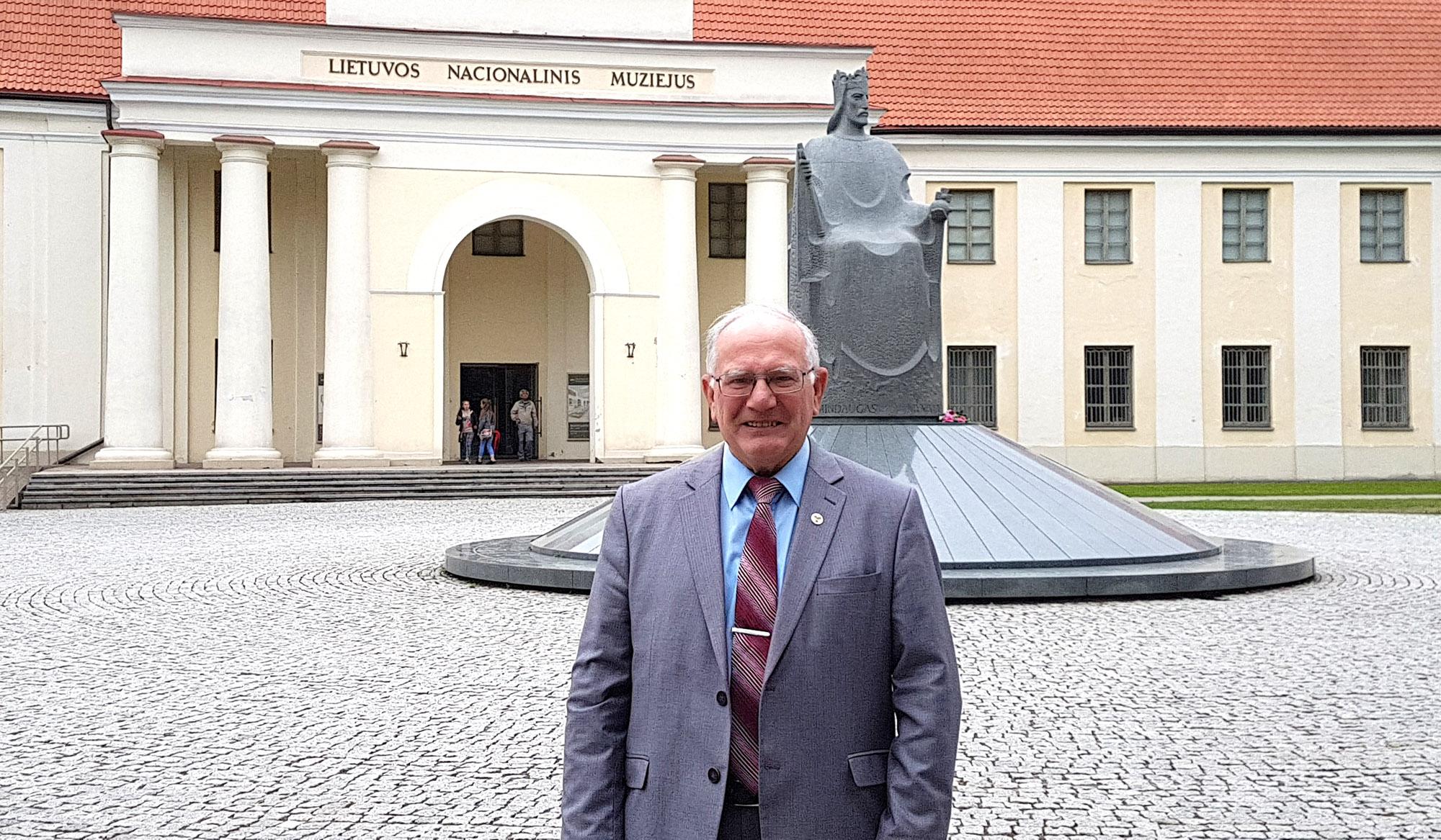 Leonas Milčius | Asmeninė nuotr. Vilniuje 2018 07 04