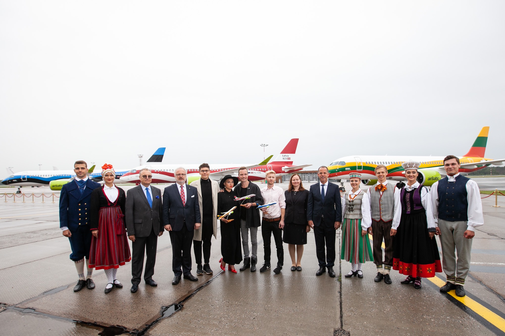 """""""airBaltic"""" šventė   Bendrovės """"airBaltic"""" nuotr."""