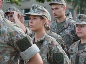 Lietuvos karo akademijos pirmakursių skaičius šiemet išaugo kone dvigubai | LKA nuotr.