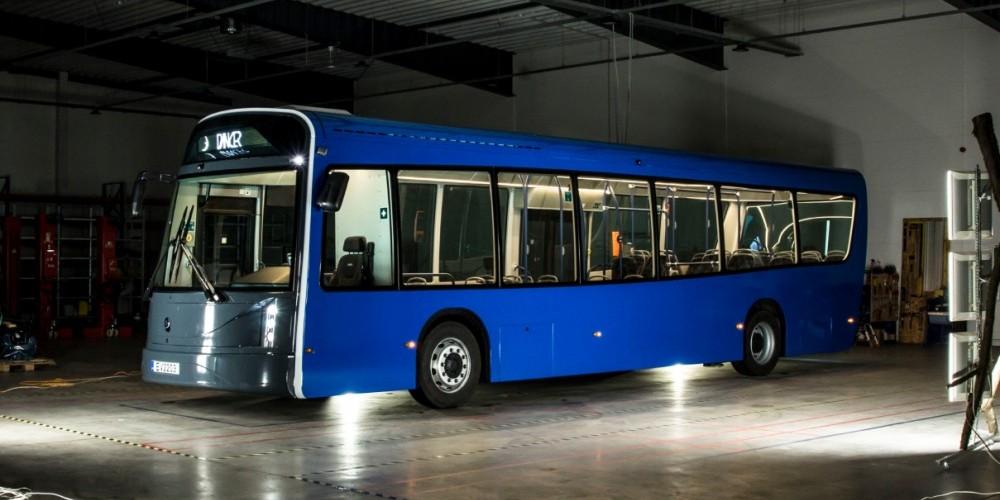 """Klaipėdoje iškils lietuviškų elektrinių autobusų laboratorija   """"Vėjo projektų"""" nuotr."""