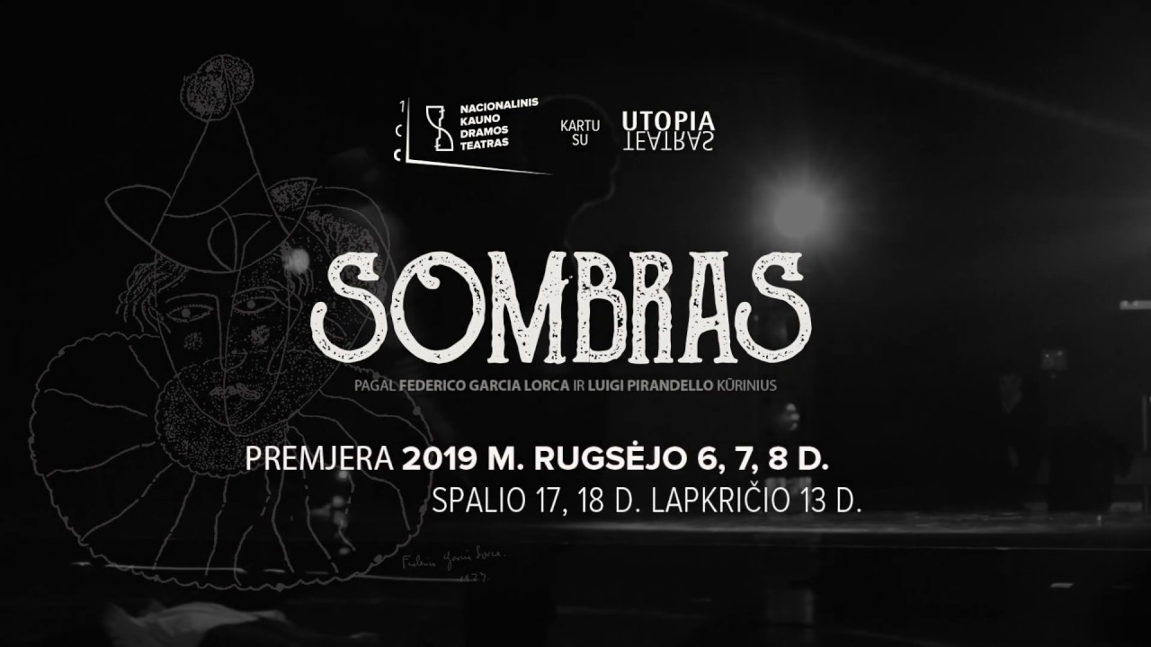 "Spektaklis ""Sombras"" | vilniausgalerija.lt nuotr."