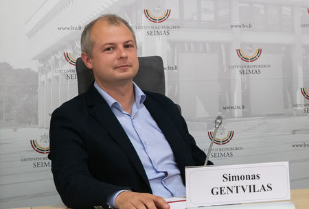 Simonas Gentvilas   lrs.lt nuotr.