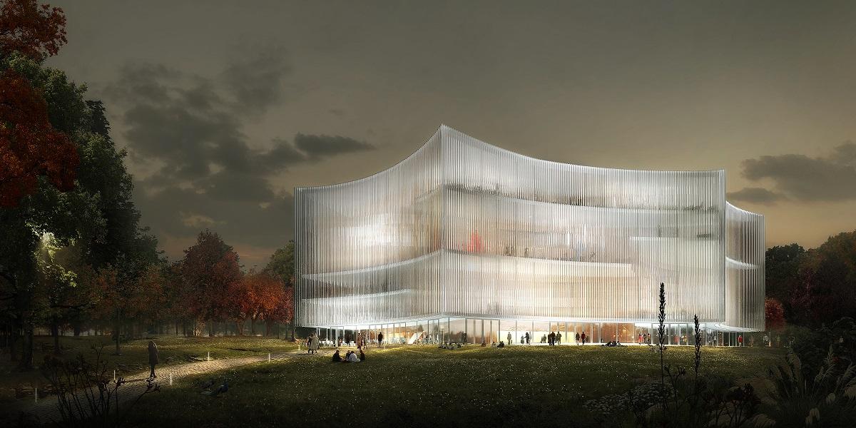 Nacionalinės koncertų salės konkurso II vieta   Vilniaus miesto savivaldybės nuotr.