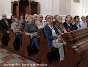 Liškiavos Švč. Trejybės bažnyčioje   A. Grigaitienės ir V. Sungailos nuotr.