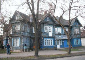Vilnius, Žvėrynas, Vytauto34. Namo vaizdas iš pietryčių | A. Stabrausko nuotr.