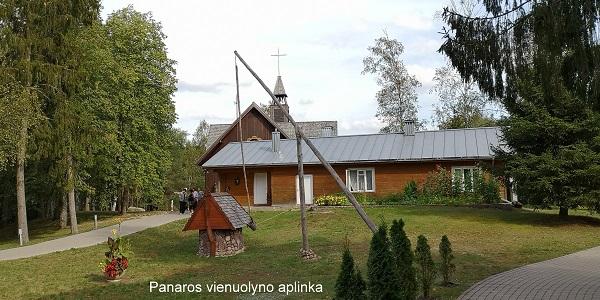 Panaros vienuolyno aplinka   A. Grigaitienės ir V. Sungailos nuotr.