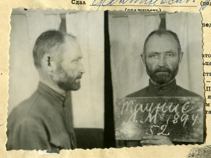 Sklandytojas, Lietuvos karinių oro pajėgų kapitonas, Tauro apygardos vadas Leonas Taunys-Kovas sušaudytas 1946 m. lapkričio 26 d. | LGGRTC it LYA archyvų nuotr.