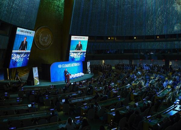 JT Klimato kaitos viršūnių susitikime Prezidentas pristatė naują globalią Lietuvos iniciatyvą | Lrp.lt nuotr.