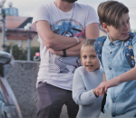 Eksperimentas. Vaikai eina per gatvę | rengėjų nuotr.