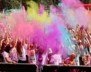 Color run renginio akimirkos   Alkas.lt, A. Sartanavičiaus nuotr.