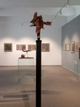 Iš B. Leonavičiaus parodos Lietuvos nacionaliniame muziejuje | O. Gaidamavičiūtės nuotr.
