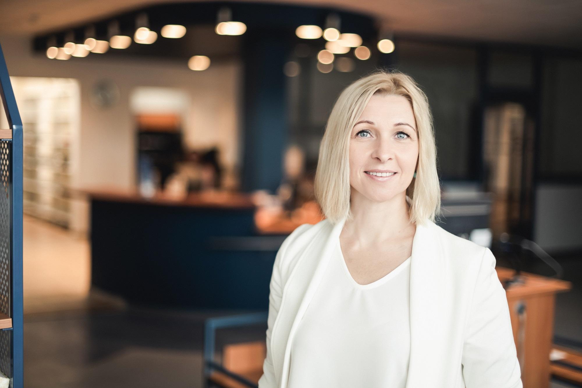 Vilniaus Gedimino technikos universiteto bibliotekos direktorė Ingrida Kasperaitienė | S. Bernoto nuotr.