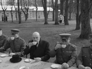 """Karolio Kaupinio filmo """"Nova Lituania"""" kadras   kūrėjų nuotr."""