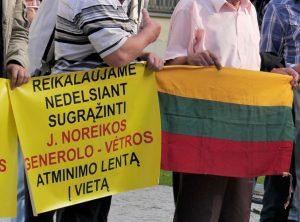 Atėjo diena, kai esame pasiruošę tesėti savo pažadą Lietuvos didvyriams! | Alkas.lt, J. Vaiškūno nuotr.