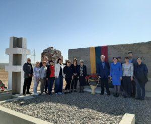 Kazachstane atidarytas memorialas Kengyro lagerio sukilimo aukoms atminti | urm.lt nuotr.