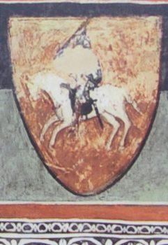 Vienas seniausių Lietuvos herbo atvaizdų (XIV a.) | wikipedia.org nuotr.