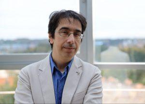 Filologijos mokslų daktaras Vytauto Didžiojo universiteto docentas Stefanas M. Lanza (Stefano M. Lanza) | Asmeninė nuotr.