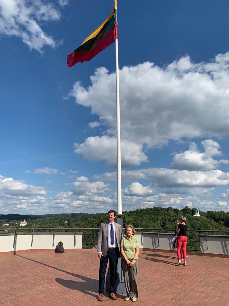 Vidmantas Valiušaitis ir Kristina Tyliūtė-Škirpienė | V.Valiušaičio nuotr.