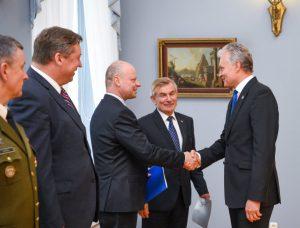 VGT pasitarimas prezidentūroje | lrp.lt nuotr.