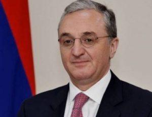Armėnijos užsienio reikalų ministras Zohrabas Mnatsakanyanas | armedia.am nuotr.