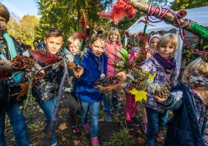 """Pirmąjį spalio šeštadienį kviečia į žemaitišką disneilendą """"Miško burtai""""   Ž. Morkveno nuotr."""