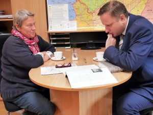 Filomena Kavoliutė ir Tomas Baranauskas | Alkas.lt, J. Vaiškūno nuotr.
