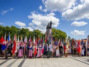 Patvirtinta Lietuvos etnografinių regionų herbų ir vėliavų naudojimo tvarka | diena.lt nuotr.