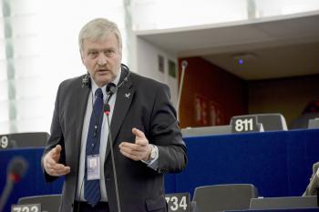 Lietuvos valstiečių ir žaliųjų sąjungos Europos Parlamento narys Bronius Ropė | Lietuvos valstiečių ir žaliųjų sąjungos nuotr.